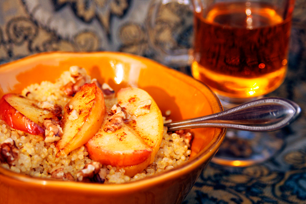 Quinoa Apples Walnuts