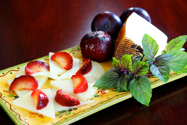 Cheese & Roasted Plum