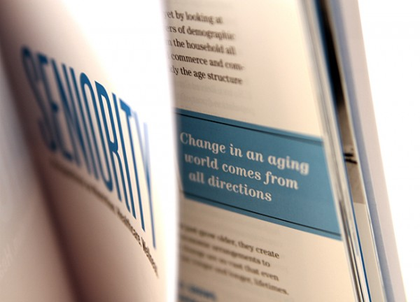 Change in an aging world comes from all directions