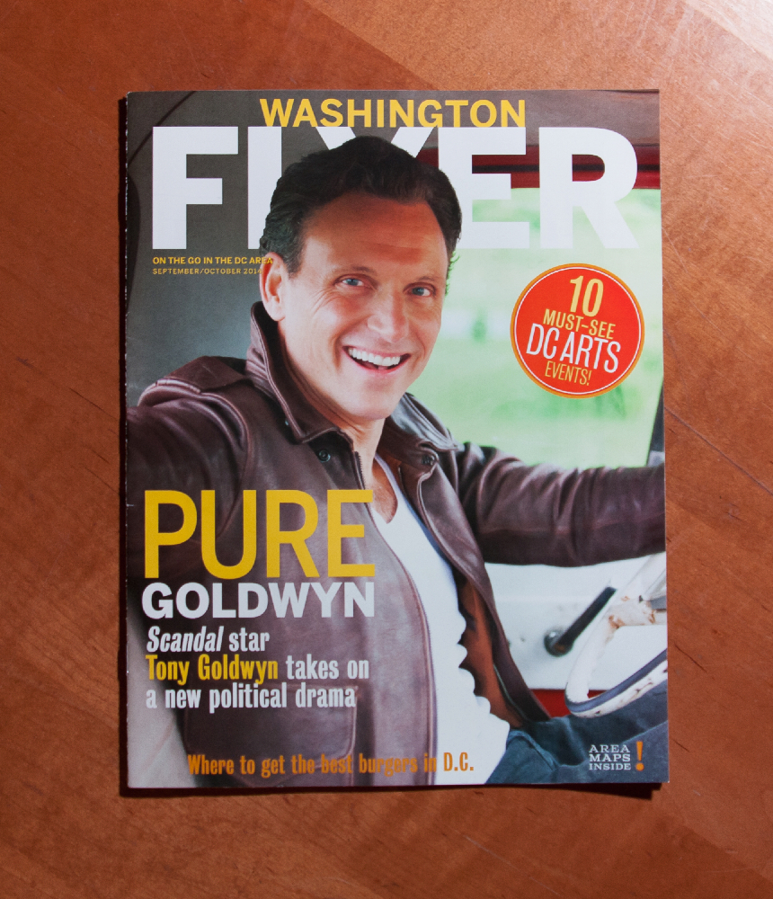 Washington Flyer cover September October 2014 issue