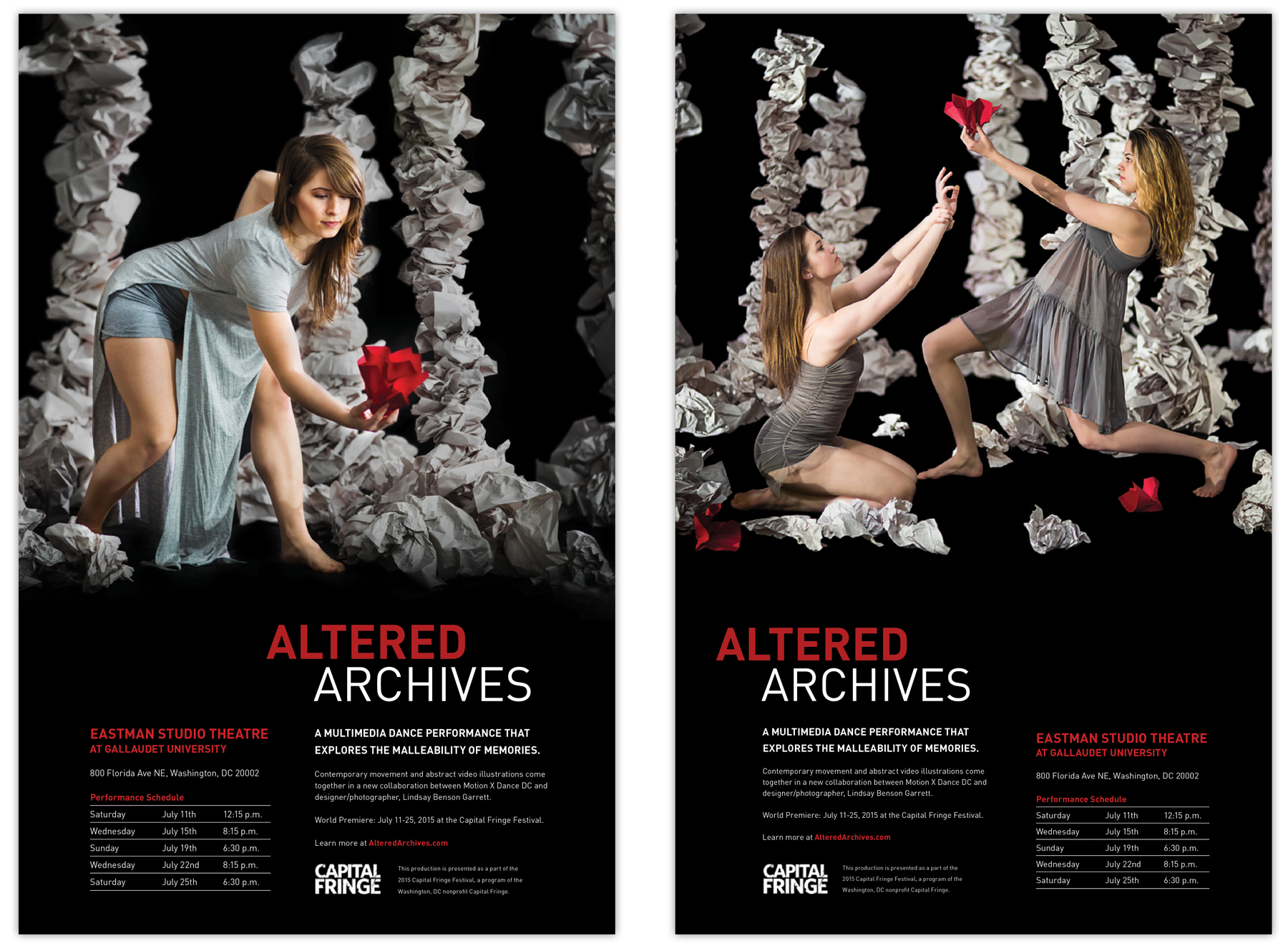 Altered Archives poster photography and design by Lindsay Benson Garrett.
