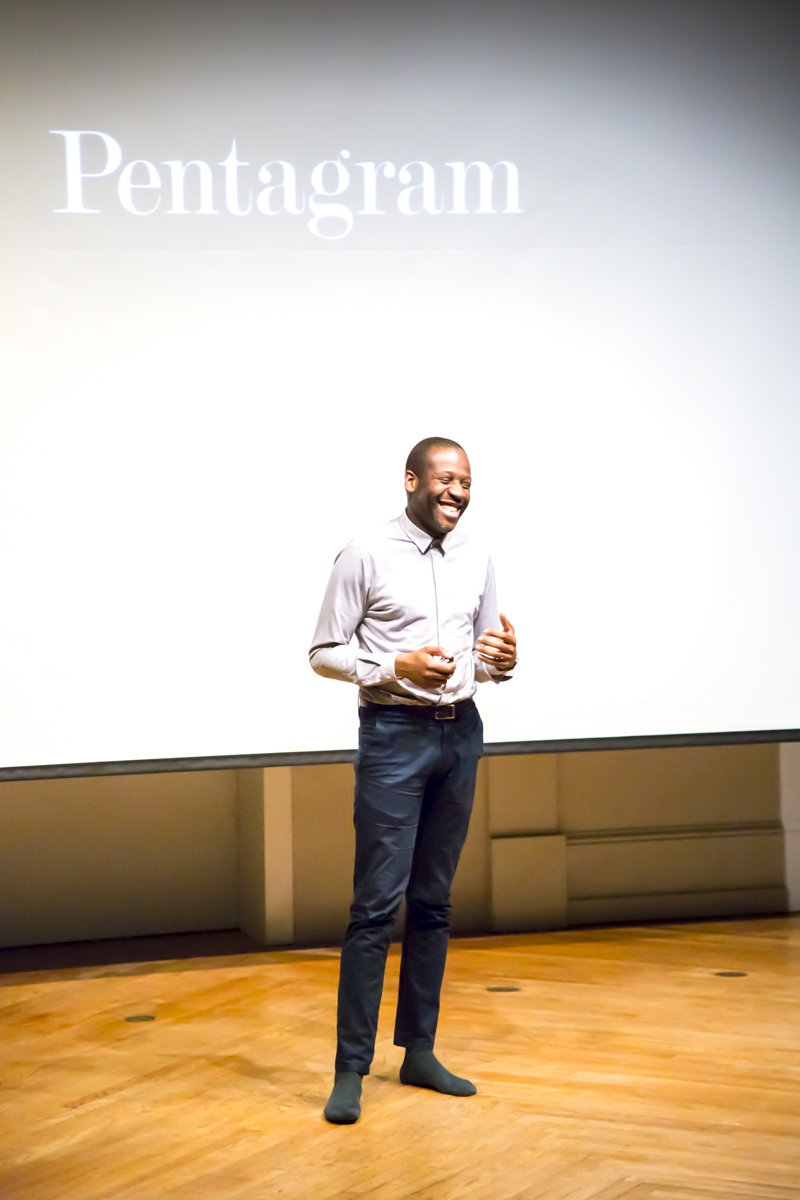 Eddie Opara speaks to AIGA DC